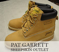 York Brand Leather Work Boots for $29.99 at Pat Garrett Sheepskin Outlet