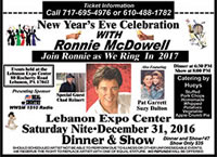 New Year's Eve Celebration with Ronnie McDowell